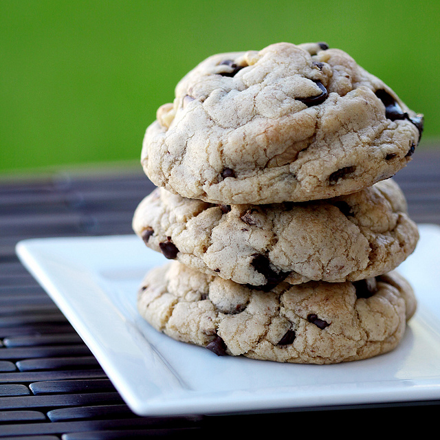 Grain Free Vegan Chocolate Chip Cookies